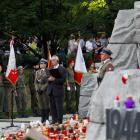 Uroczystości Na Wolskim  Cmentarzu Powstańców Warszawy
